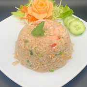 Prawns fried rice khao pad goong